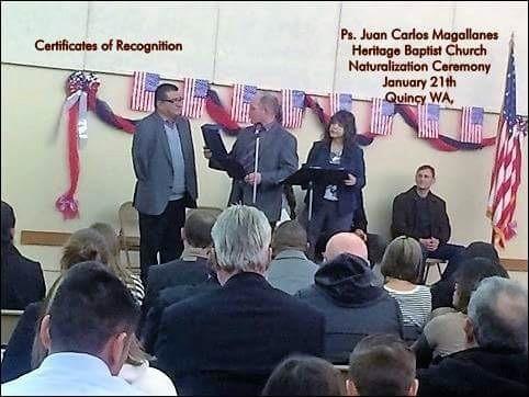Citizenship program, ceremony